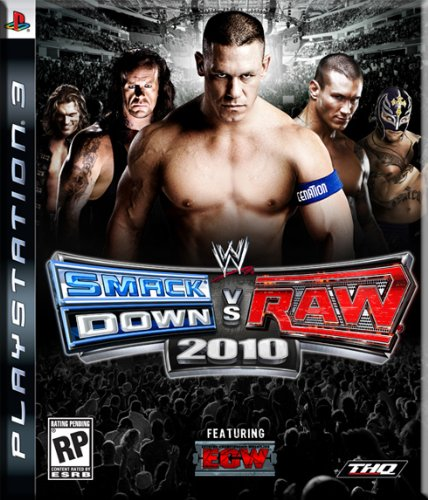 WWE Smackdown vs Raw 2010 (Ps3-wwe-wrestling-spiele)