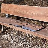 Vindoor Sitzmatte 40x35cm im 2er Pack, isolierendes Sitzkissen schützt im Sommer und wärmt im Winter, ideal für's Stadion, Konzerte, Reisen, Ausflüge, Wandern oder Camping -