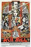 Kill Bill Vol 1 Movie Poster 70 X 45 cm