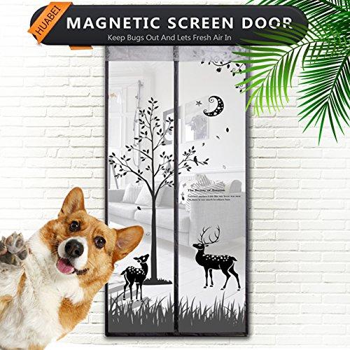Huabei zanzariera magnetica velcro adesivo 110*220 zanzariera porta finestra magnetica anti-zanzare calamite tenda zanzariera porta magnetica