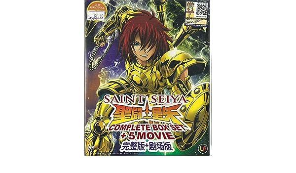 SAINT SEIYA - COMPLETE ANIME TV SERIES DVD BOX SET 1-159