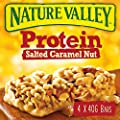 Nature Valley Protein Salted Caramel Nut Cereal Bars 4x40g