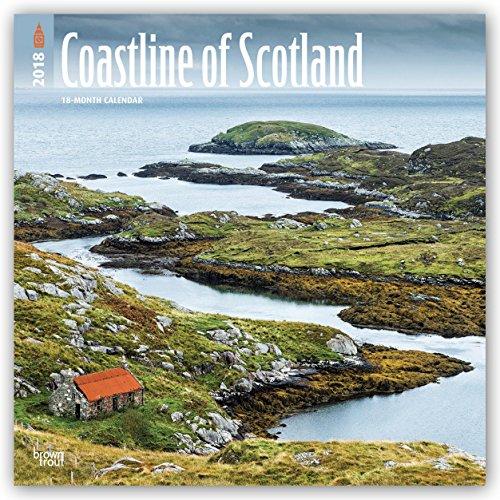 Descargar Libro Coastline of Scotland - Die Küste Schottlands 2018 - 18-Monatskalender mit freier TravelDays-App: Original BrownTrout-Kalender de Browntrout