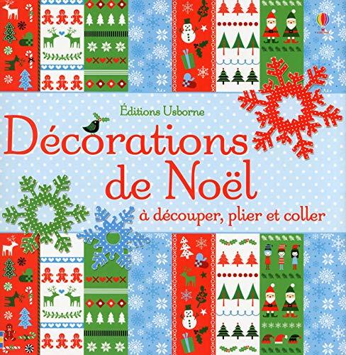 Décorations de Noël à découper, plier et coller