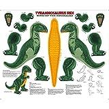 Quilting Treasures Stoffpaneel mit Dinosaurier-Motiv,