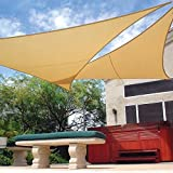 Kit de sombreo con mastil Malla triangular Coolaroo 3,6 x 3,6 x 3,6 M