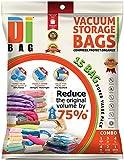 Dibag ES 15P Combo Set - Juego de 15 bolsas de almacenaje al vacío