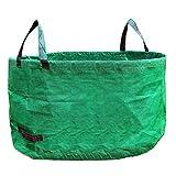 Sue Supply Gartensack Premium Gartenabfallsack Stabile Gartensäcke aus Extrem Robustem Polypropylen-Gewebe Laubsack Selbststehend und Faltbar, 238L