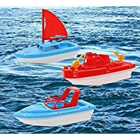 Dazzling Toys Bath and Sand Boat Toys 3 pack (D318)