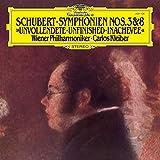 Schubert: Sinfonie 3 & 8 - Die Unvollendete [Vinyl LP]