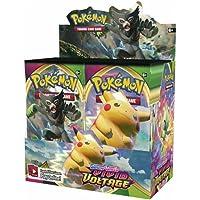 Pokemon Épée et Bouclier Carte Épée et Bouclier Battle Card Vivid Voltage Booster Box - 36 Packs (360pack/1boîtes)(copie…