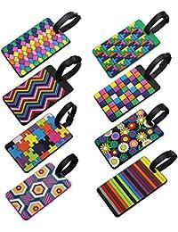 LJY - Etiqueta para Equipaje Multicolor Multicolor