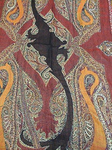 Mogul Interior - Châle - Femme Rouge - Bordeaux