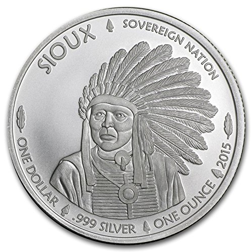 Moneta da 1 dollaro america, in argento,