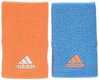 adidas S97883 Serre-Poignet Femme, Samba Blue/Glow Orange/White, FR : OSFM (Taille Fabricant : OSFM)