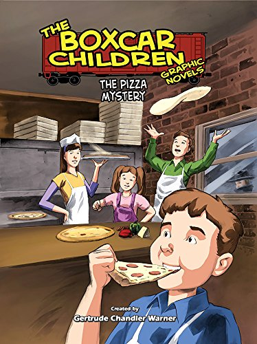 The Pizza Mystery (Boxcar Children Graphic Novels, Band 11)