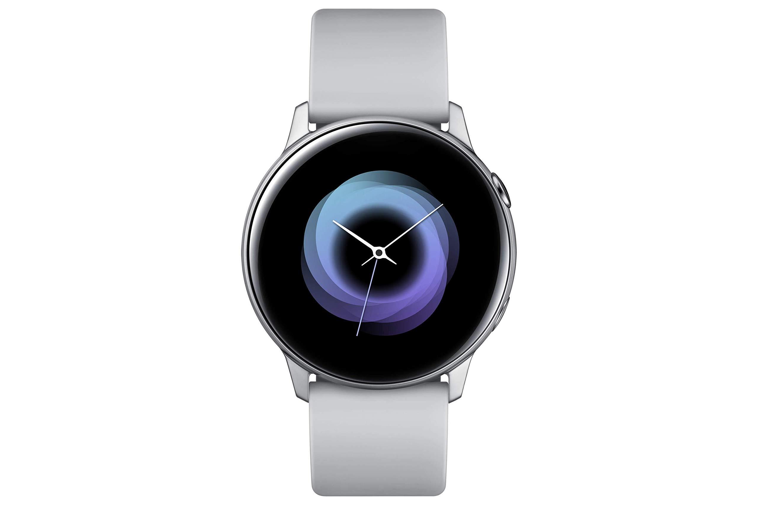 Samsung Galaxy Watch Active Reloj Inteligente Plata SAMOLED 2,79 cm (1.1″)