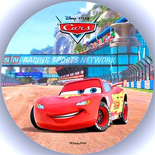 Fondant Tortenaufleger Tortenbild Geburtstag Disney's Pixar Cars T1