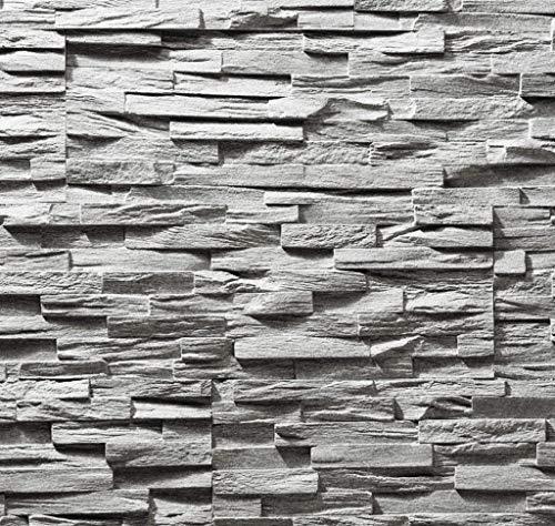 EPS-Schaumstoff Verblendstein UltraLight - Benevento/Wanddekoration/Fliesen/Verblendstein/Wandplatten (Grau)