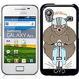Hülle für Samsung Galaxy Ace (GT-S5830) - Wilden Renner by Olga Angelloz Design
