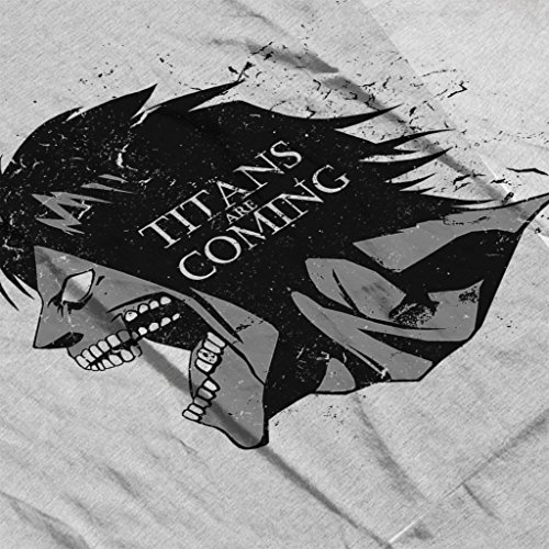 Cloud City 7 Attack On Titan Game Of Thrones Mix Women's Vest Heather Grey