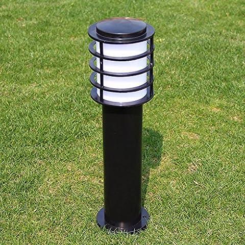 Césped luz solar exterior jardín luces impermeable al aire libre del jardín césped luz LED de aluminio,pequeña