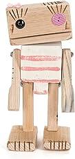 Il Falegname - Lobò Mod. 19 Handgefertigte Holzfigur Italienische Handwerkskunst.