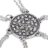 Best Necklaces 6 Piece - TBOP six Stitching Best Friends Pizza Necklace in Review