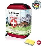 URBAN MEDICAL Premium Erste Hilfe Set aus Deutschland DIN 13167 GRATIS Rettungsdecke | Camping Sport Reisen Bike & Zuhause