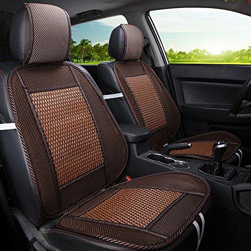 Seggiolino per auto traspirante in bamboo e seta sedile per camion seggiolino auto nuovo pad estivo - 6 colori tra cui scegliere, la maggior parte delle auto È adatta,d