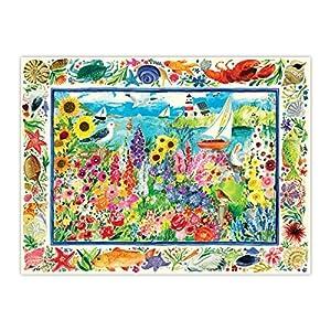 eeBoo-Puzzle 1000Piezas-el jardín de Las Gaviotas