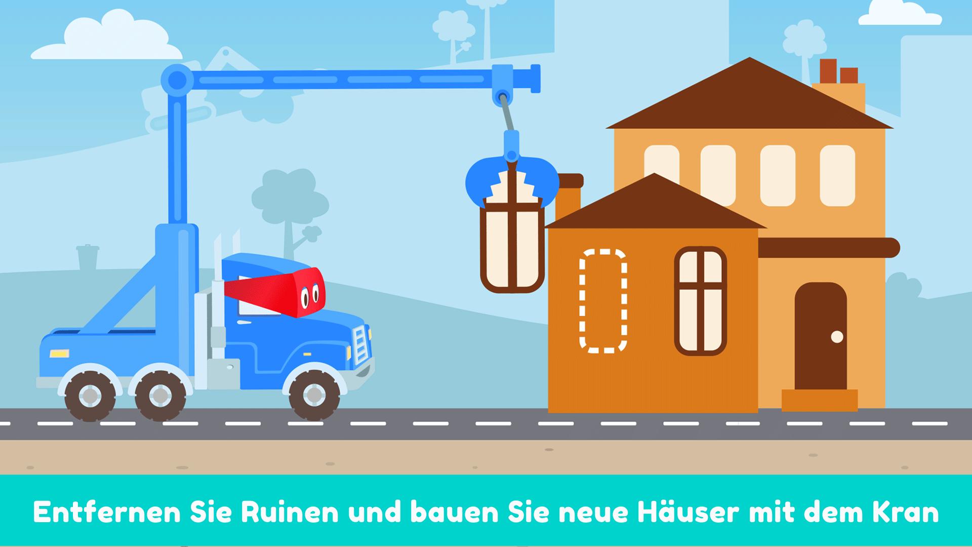 Carl der Super Truck Baustelle: graben, bauen: Amazon.de: Apps für ...