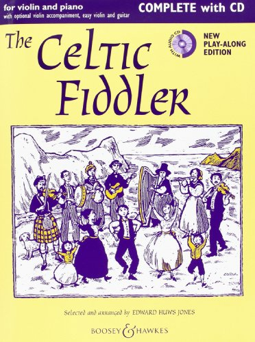 Celtic Fiddler (Violoniste Celte) +CD --- Violon /Piano