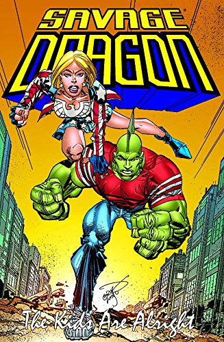 Savage Dragon: Kids Are Alright por Erik Larsen