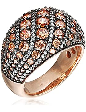 Joop Damen-Ring EXTREME PAVÈE 925 Silber Zirkonia beige JPRG90763C5