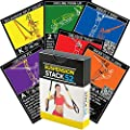 Suspension Exercise Cards by Stack 52. For TRX, Woss, and Ritfit Trainer Straps. Suspended Bodyweight Resistance Workout Game. Video Instructions Included. Fun at Home Fitness Training Program. by Stack 52