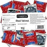 Pasante Red Velvet - 144 condones, rojo