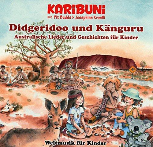 Didgeridoo und Känguru-Weltmusik für Kinder