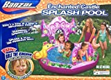Spring & Summer Toys Banzai Enchanted Castle Splash Pool by Banzai