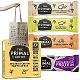 The Primal Pantry Paleo & Protein-Riegel 8er Probierbox mit Stofftasche