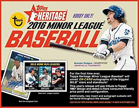 2016 Topps Heritage Minor League Baseball Hobby Box by Topps