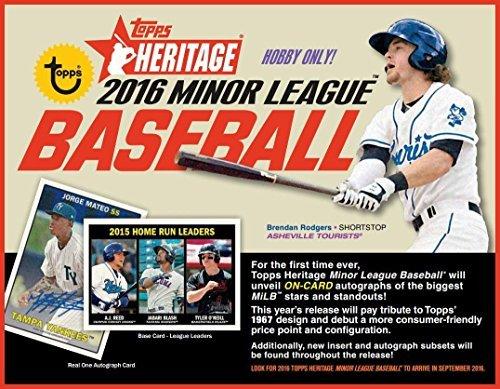 2016 Topps Heritage Minor League Baseball Hobby Box By Topps