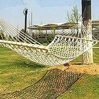 Upper-Hängende netzhängematte Bett einzelnen Netz atmungsaktiv hängender Baum Indoor Outdoor doppel Balkone aus Moskitonetzen