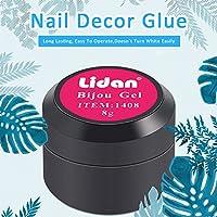Ruier-hui, Pegamento de Uñas Pegamento para Pedrería en Uñas 8G Nail Glue Pegamento