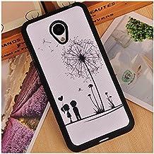 Prevoa ® 丨Meizu M2 Mini Funda - Colorful Silicona Protictive Carcasa Funda Case para Meizu M2 Mini 5,0 Pantalla Smartphone - 10