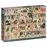 Jumbo 18324 - Francien's Jubiläumskatzen 1000 Teile