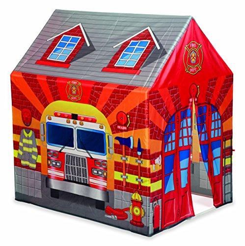 Dal Negro DAL Tenda Caserma dei Pompieri Casetta Giardino Gioco Estivo Estate 559, Stampa, Multicolore, 8001097538010