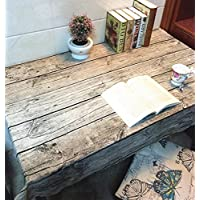 GS~LY Caldo tovaglia Romance/Table runner simulazione retrò in legno Tabella di cotone tessuto / Caffè panno Tabella / Multi-purpose sciarpa asciugamano per Home Ristorante Hotel Party , 140*220cm