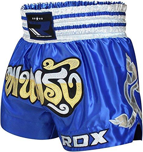 RDX Muay Thai Shorts Kampfsport Boxen Thaibox Hose Kickboxen Kurze Sporthose Trainingshorts