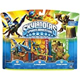 Skylanders Spyro's Adventure: Triple Pack A (Drobot, Stump Smash, Flameslinger)